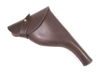 WWI Era British Leather Holster for the Webley 455 Revolver Reproduction