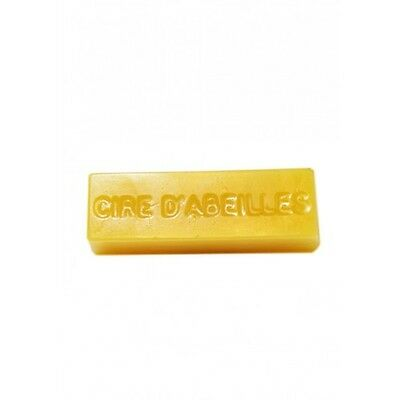 Beeswax Mould, 5 cavity, 28g bar - 'Cire D'Abeilles' wording in mould, soap wax