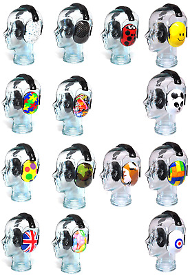 Edz Kidz Ear Defenders Children Kids Boy Girl Bag & Cap Option BRAND NEW