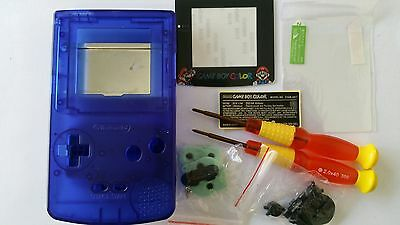 Es- Phonecaseonline Carcasa Gameboy Color Mario Clear Blue Nueva