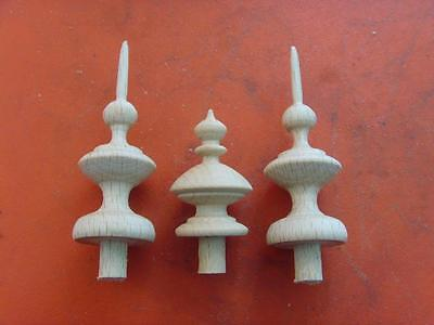 Finials Style 2 31f and 1 34F bespoke order