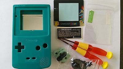Faceplates, Decals & Stickers Phonecaseonline Carcasa Gameboy Color Mario Clear Orange New It