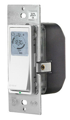 Leviton VPT24-1PZ Vizia 24-Hour Programmable Indoor Timer with Astro Clock