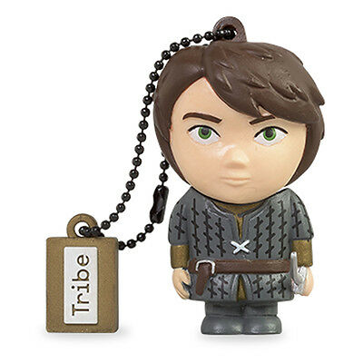 Game of Thrones Arya Stark Officially Licenced Tribe 16GB USB Flash Drive NEW