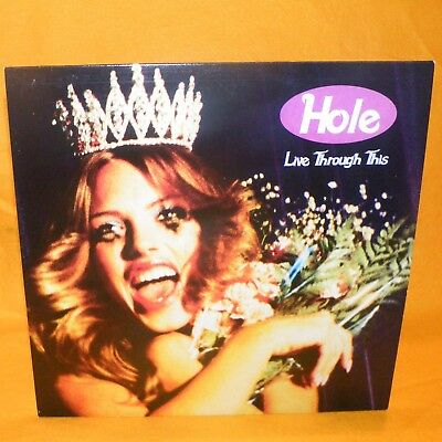 "2014 Hole - Live Through This 12"" Lp Album Vinyl Record European"