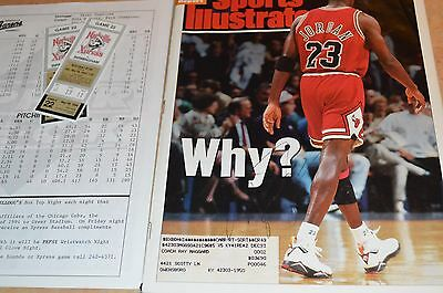 Michael Jordan Signed Sports Illustrated Magazine!!! 100% Authentic! Must See!!!