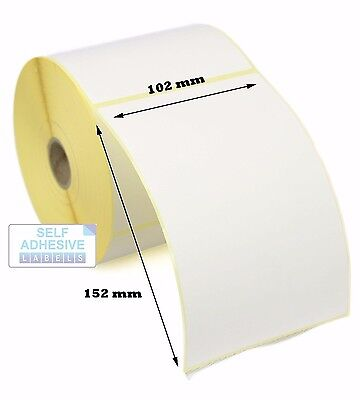 102x152mm Direct Thermal Labels Zebra Type Labels(102x152) - 5,000 labels.