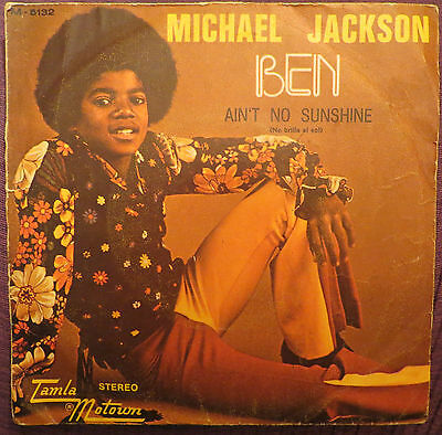 Michael Jackson: Ben  (Spanish Single) !!!!!!!!!!!very Rare