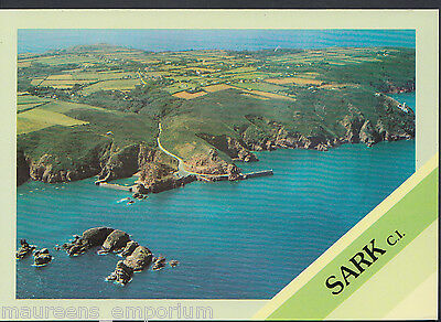 Channel Islands Postcard - Aerial View of Sark    LC5988