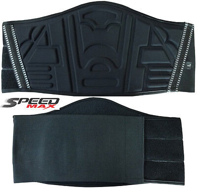 Lower Back Embossed Padding Kidney Belt Xtra Warmth Motorbike Motorcycle Support