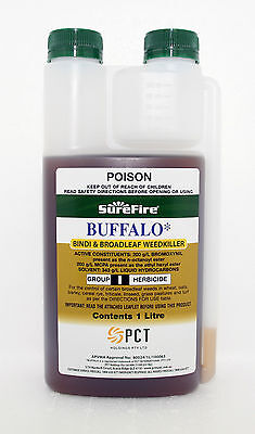 BUFFALO, BINDI & BROADLEAF WEEDKILLER 1 Litre (Bromoxynil & MCPA) (CONCENTRATE)