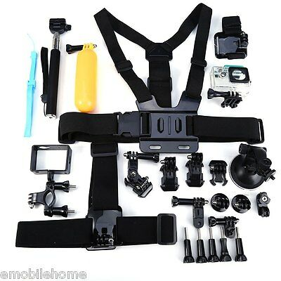 Outdoor Sports Accessories Kit for Xiaomi Yi Action Camera