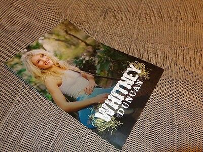 """Whitney Duncan *Two Gorgeous 12""""x18"""" Promotional Posters!"""