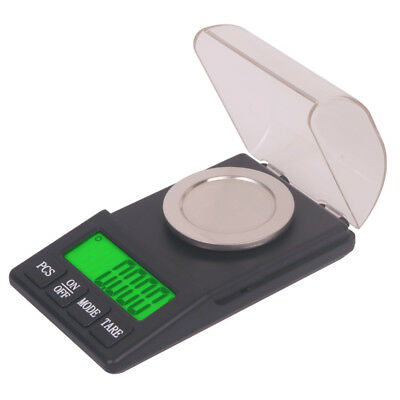 100g/0.001g High Precision Digital Diamond Jewelry Scale LED Backlit with Cover