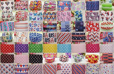 Wholesale! 1/5/10yds 7/8'' (22mm) printed grosgrain ribbon Hair bow sewing #9