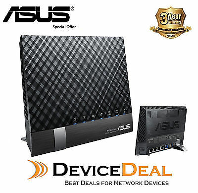 ASUS DSL-AC56U 802.11ac VDSL/ADSL Dual-Band Modem Router - 3 Years Warranty