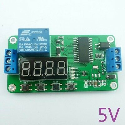 DC 5V Multifunction Delay Switch Time Relay for Arduino UNO Solar phone charger
