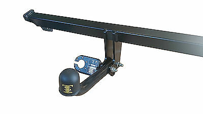Fixed Swan Neck Towbar for Peugeot 5008 2009 On Car Tow Bar 1607041_H