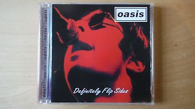 """Oasis """"definitely Flip Sides"""" Pro Sourced Silver Disc Cd-Brand New/never Used!"""