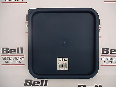 *new* Blue Lid For 12,16, 18, 22 Qt Square Food Storage Containers - Fits Cambro
