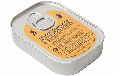 LifePac Emergency Outdoor Survival Kit in a Sardine Can