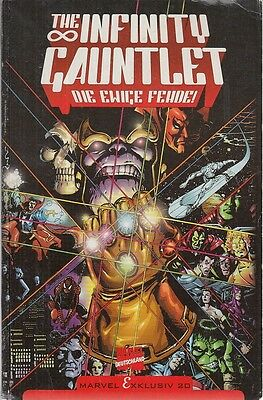 F- The Infinity Gauntlet Guanto Dell'infinito Tedesco -- Marvel- 1991- B- Mbx779