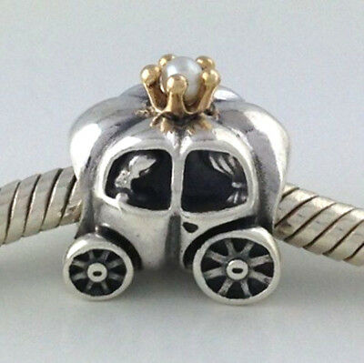 535ce4245 01421 47f7a; where to buy authentic pandora royal carriage white pearl 925  silver bead charm 790598p new 8b755