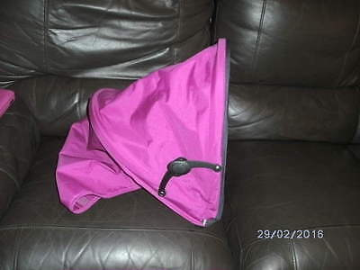 Replacement Hood For Mamas And Papas Swirl Pushchair   ( Red, Pink And Blue)