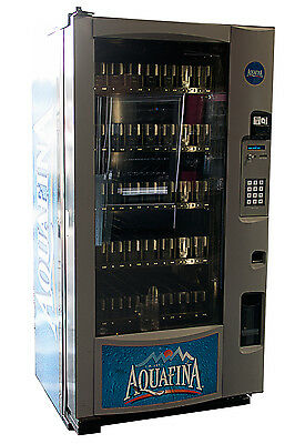 Royal Vision Vendor RVV 500 Glass Front Beverage Vending Machine Robotic Arm