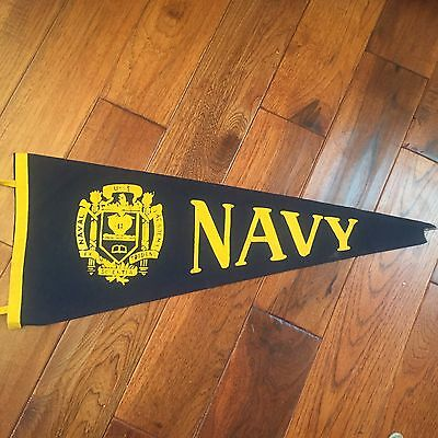 "WWII US Navy Pennant 27 1/2"" In Length"