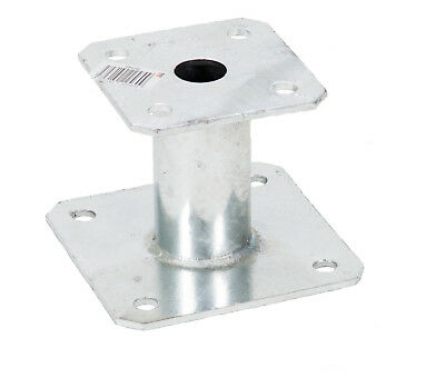 1 x Simpson StrongTie ELEVATED POST BASE PPA100 100mm GALVANISED