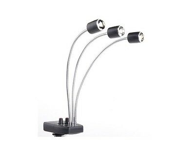 New Triple LED Magic Arm Background Light for Macro Photography Macrophotography