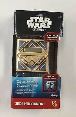 NIB Star Wars Science Light Up Jedi Holocron Uncle Milton 20 Questions Cube