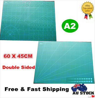 A2 Self Healing Large Thick Cutting Mat Craft Quilting Scrapbooking Double Print