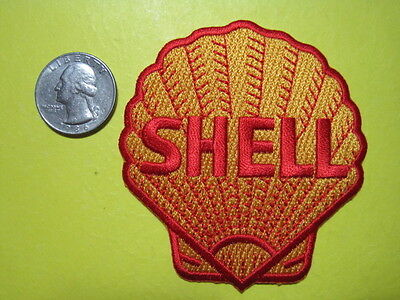 Shell Oil Uniform Cloth Patch 3 Inch Crest Size Look And Buy!*