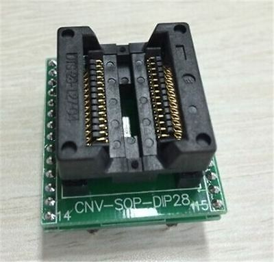 Programmer Adapter Dip28 Socket Sop28 So28 To New Ic Develope Diy P