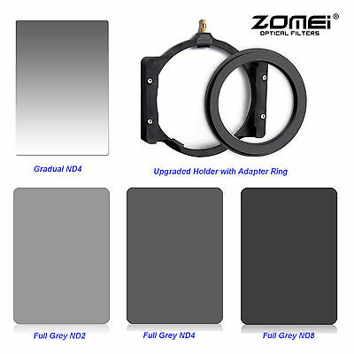 Zomei PRO Camera Filter Kits ND248 Lens&Gradual ND4&67mm Ring&Holder For Cokin Z