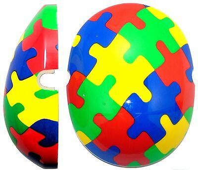 Jigsaw Autistic Capz By Edz Kidz * Kids Ear Defenders NOT INCLUDED