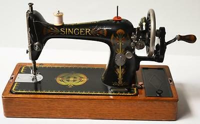 1910s Singer Hand Crank Sewing Machine Model 66K - FREE P&P [PL2134]