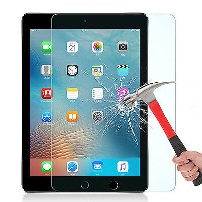9H+ HD Premium Tempered Glass Guard Clear Screen Protector Film For iPad 2 3 4