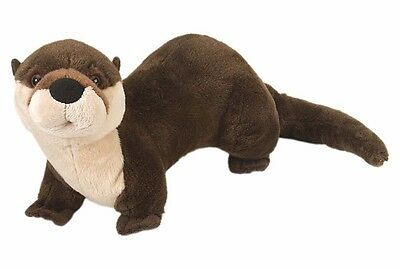 River Otter Plush Soft Toy BNWT 38cm/15in by Wild Republic