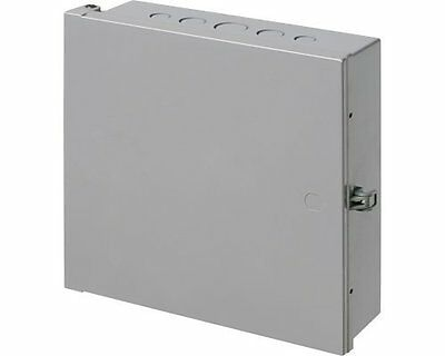 Arlington Electronic Enclosure Box, Electrical Project Junction, 12x12x4 New!