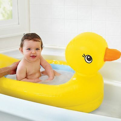 Munchkin Hot Inflatable Safety Duck Baby Bath Bather