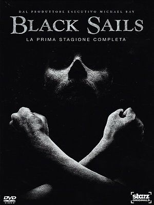 Black Sails - Stagione 1 (3 DVD) - ITALIANO ORIGINALE SIGILLATO -