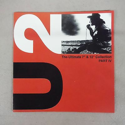 """U2 """"the Ultimate 7""""& 12"""" Collection Part Iv"""" Pro Source Silver Disc Cd-Brand New"""