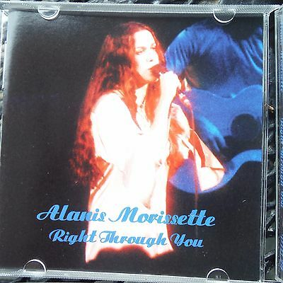 "Alanis Morissette ""right Through You"" Pro Sourced Silver Disc-Brand New/unused!"