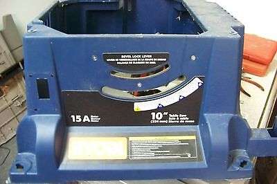 Ryobi RTS21 10 in. Table Saw Parts ~ cabinet