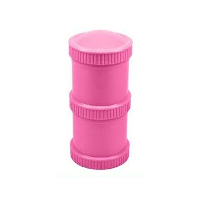 Re-Play Double Snack Stack, Pink - 80401