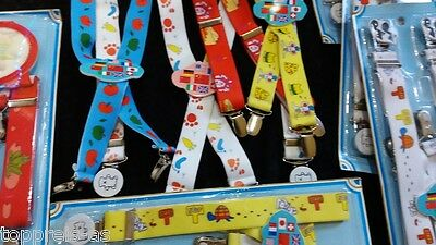 Kids pants carrier Suspenders Children Boys Girl Stretch elastic Quality