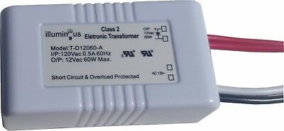 60W 120V to 12V Dimmable Transformer UL approved